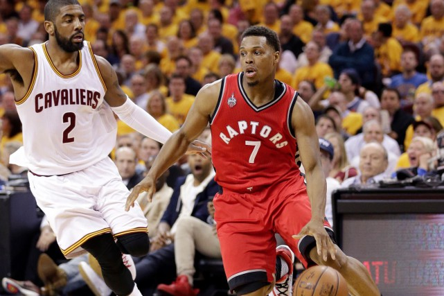 Kyle Lowry ne totalise que 18 points lors... (AFP, Nathaniel Butler)
