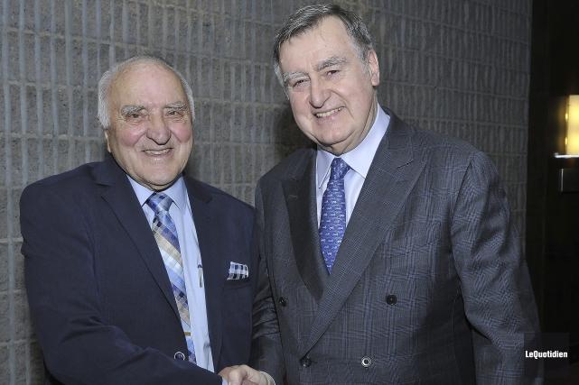 L'ex-premier ministre Lucien Bouchard a exprimé toute sa... (Photo Le Quotidien, Rocket Lavoie)