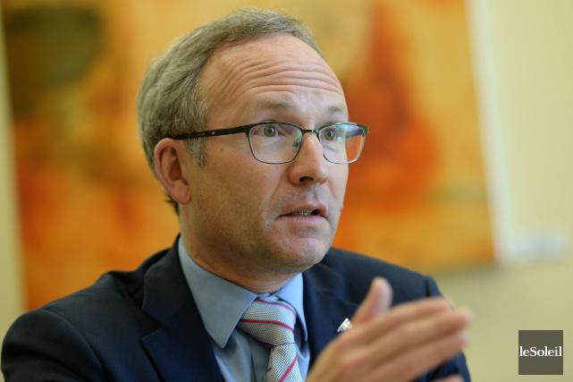 Le ministre de la Sécurité publique, Martin Coiteux,... (Archives, Le Soleil)