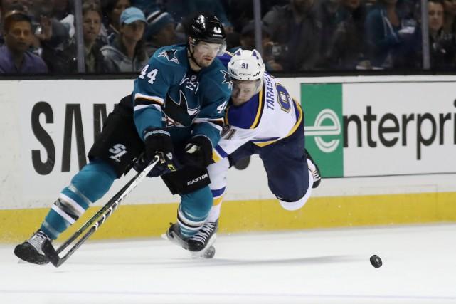 Si les Sharks de San Jose s'approchent d'une... (Archives AP, Tony Avelar)