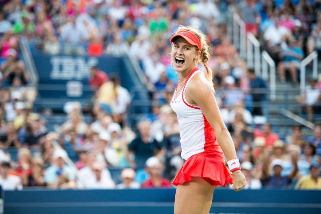 Eugenie Bouchard a déjà remporté cinq victoires de plus... (PHOTO BEN SOLOMON, ARCHIVES THE NEW YORK TIMES)