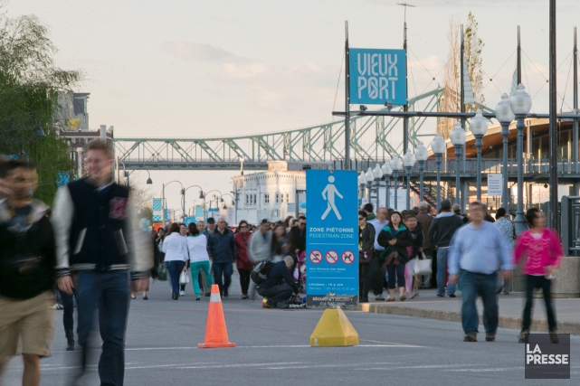 Une grève légale ou lock-out au Vieux-Port de... (PHOTO HUGO-SÉBASTIEN AUBERT, ARCHIVES LA PRESSE)