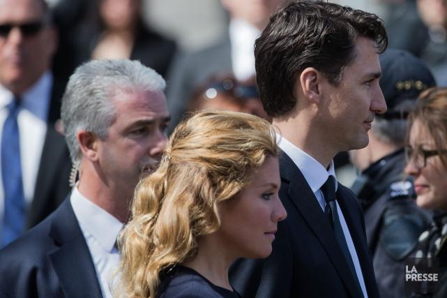 Sophie Grégoire et Justin Trudeau... (Archives La Presse)
