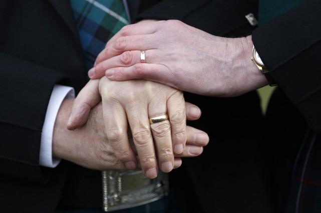 L'Église d'Écosse avait voté dès 2013 une motion... (PHOTO ARCHIVES REUTERS)