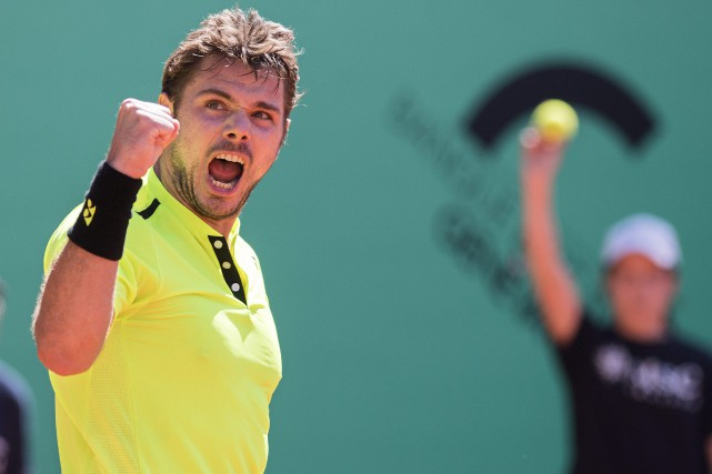 Stan Wawrinka... (Photo Martial Trezzini, AP)