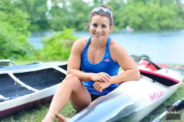 La kayakiste de 23 ans, originaire de Lac-Beauport,... (Photothèque Le Soleil)