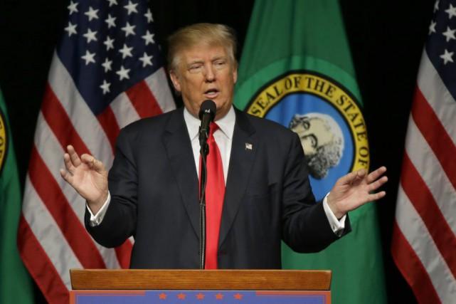 Selon des experts, Donald Trump pourrait payer peu... (AP, Ted S. Warren)