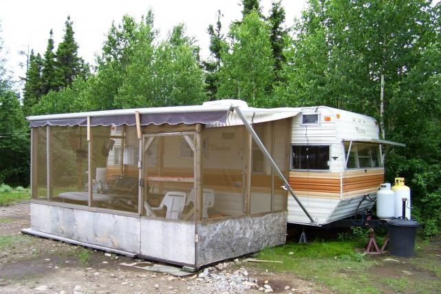 La mise en place de mesures d'encadrement du camping dans les zones... (Photo courtoisie)