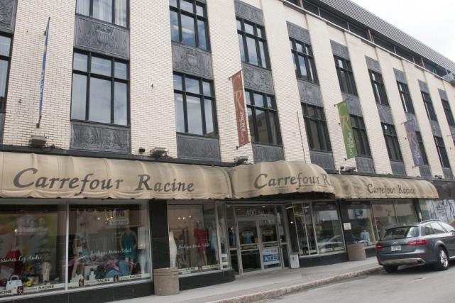 Le projet de l'homme d'affaires Paul Boivin au Carrefour Racine tarde à se... (Photo Le Progrès-dimanche, Michel tremblay)