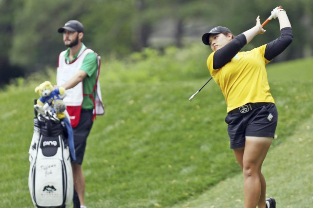 Ariya Jutanugarn... (PHOTO AILEEN DEVLIN, AP/THE DAILY PRESS)