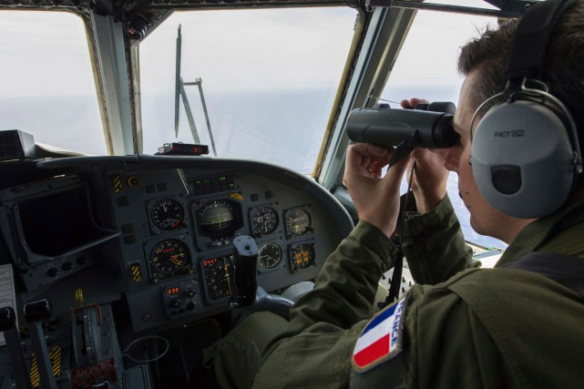Les navires et avions des armées égyptienne et... (AFP, MARINE NATIONALE française, Alexandre Groyer)
