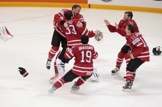 Équipe Canada n'a marqué que deux buts en deux matchs contre la Finlande au... (Photo AP)