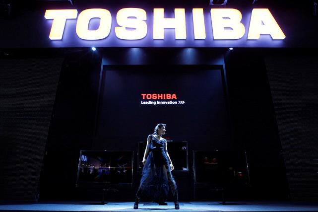 Toshiba, qui sort d'un scandale de maquillage de... (Photo Kim Kyung-Hoon, archives Reuters)