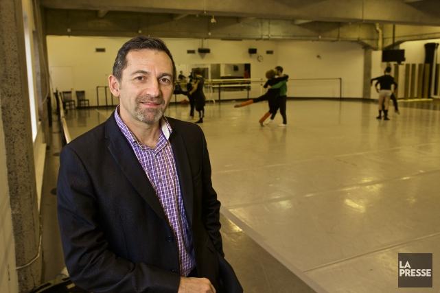 Le directeur général des Grands Ballets canadiens de... (PHOTO ANDRÉ PICHETTE, LA PRESSE)