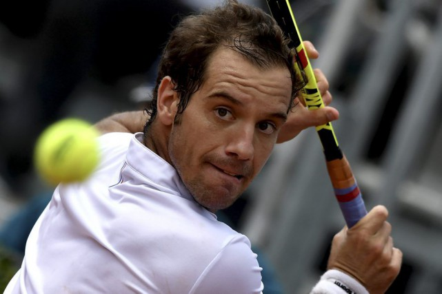 Richard Gasquet... (PHOTO TIZIANA FABI, ARCHIVES AFP)