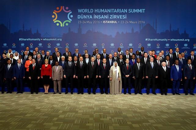 Le sommet de deux jours veut engendrer une... (Photo Kayhan Ozer, Presidential Palace via Reuters)