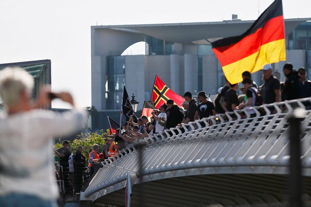 L'Allemagne a accueilli plus de 1,1 million de... (Photo Hannibal Hanschke, archives Reuters)