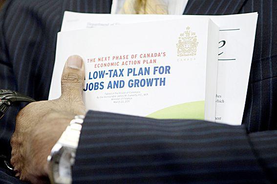 Selon le plan d'action économique déposé hier aux... (Archives, La Presse Canadienne)