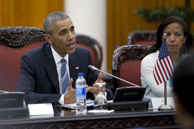 Les lois fédérales américaines ne comporteront plus de termes désuets et... (Associated Press)