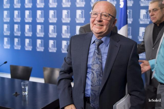 Guy Chevrette, porte-parole du Comité provincial de concertation... (Photothèque Le Soleil)