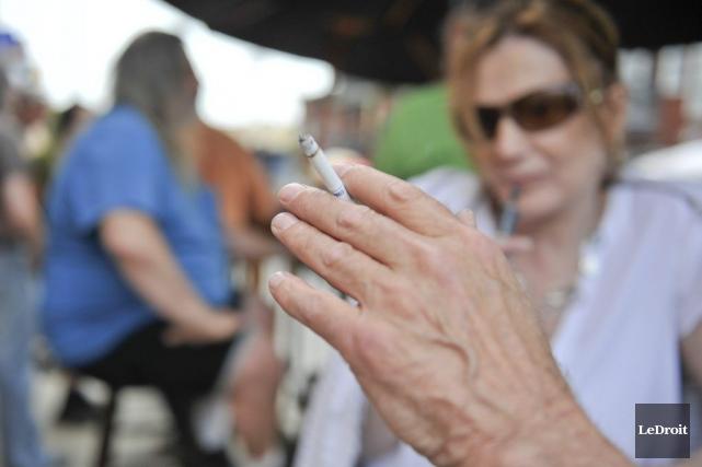 «Réduire le tabagisme est la meilleure façon de... (Martin Roy, LeDroit)