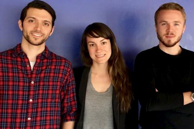 MathieuCassagnes, StéphanieBrochu et Gwenaël Salley sont les associés... (fournie par Articho)