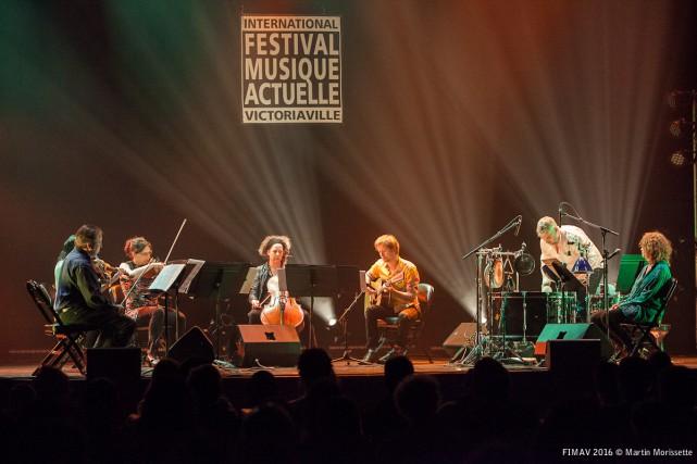 Le Quatuor Bozzini et Kim Mhyr ont offert... (Collaboration spéciale, Martin Morrissette)