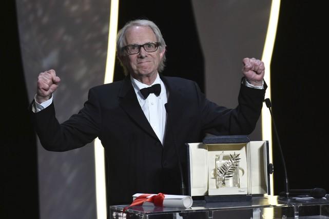 Le cinéaste britannique Ken Loach a reçu la... (PHOTO ARCHIVES AFP)