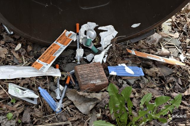 L'implantation d'un service d'injection supervisé à Québec amorce ces jours-ci... (Le Soleil, Patrice Laroche)