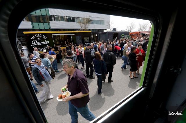 Le vol de camions-restaurants s'avère être assez rare.... (Le Soleil, Erick Labbé)