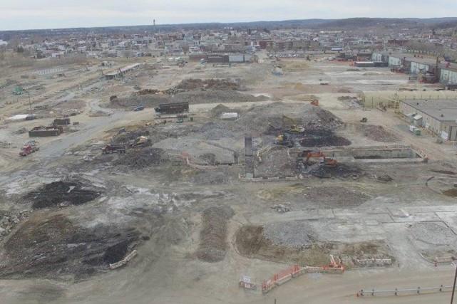 Voilà une photo aérienne du site de l'ancienne... (Courtoisie Rio Tinto)