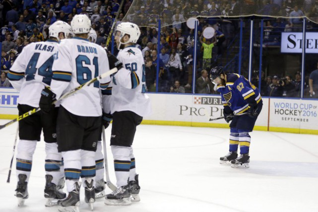 Patrick Marleau a disputé plus de 1500 matchs avec les Sharks de San Jose... (Photo AP)