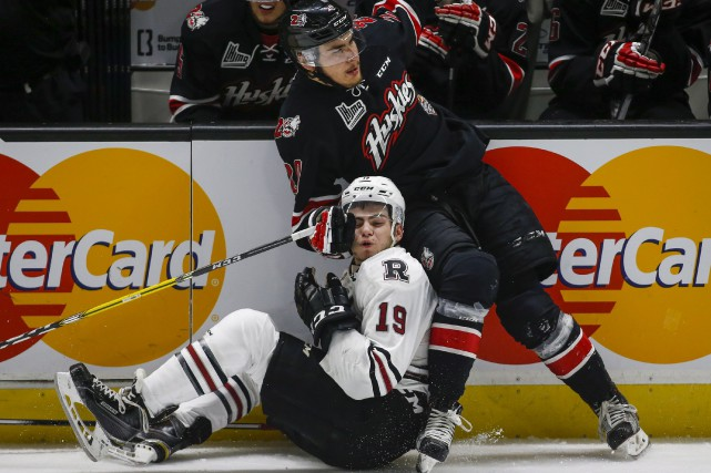 L'indiscipline a coulé les Huskies de Rouyn-Noranda, dimanche.... (La Presse Canadienne, Jeff McIntosh)