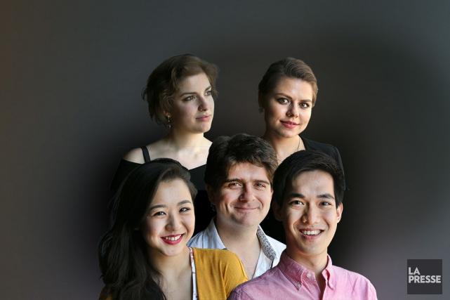 Cette année, le Concours musical international de Montréal, qui s'est ouvert... (Photos Robert Skinner, La Presse)