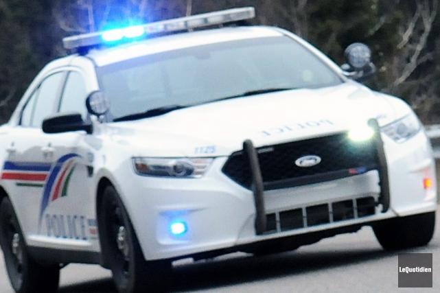 La Sécurité publique de Saguenay (SPS) enquête sur... ((Archives Le Quotidien))