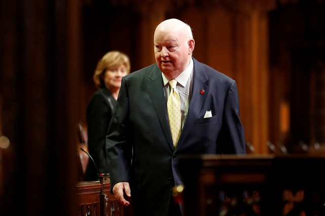 Le sénateur Mike Duffy.... (Photo Chris Wattie, archives Reuters)