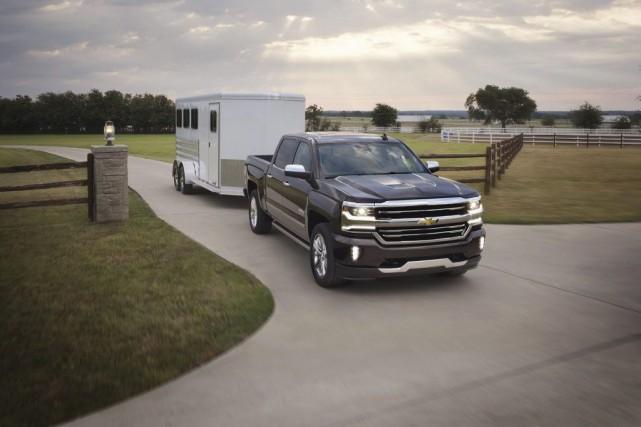 Le Chevrolet Silverado 2016... (Toutes les photos : GM)