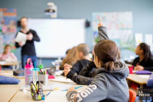 L'école québécoise est mal en point: décrochage scolaire, enseignants qui... (Photo archives La Presse)