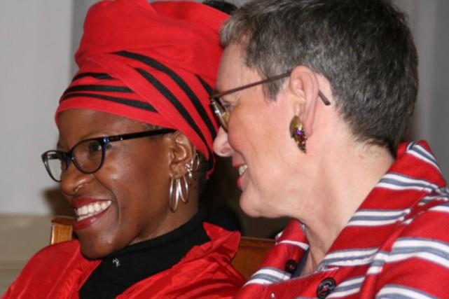 La révérende Mpho Tutu a renoncé à la... (PHOTO MARCELINE TUTU-VAN FURTH, LINKEDIN)