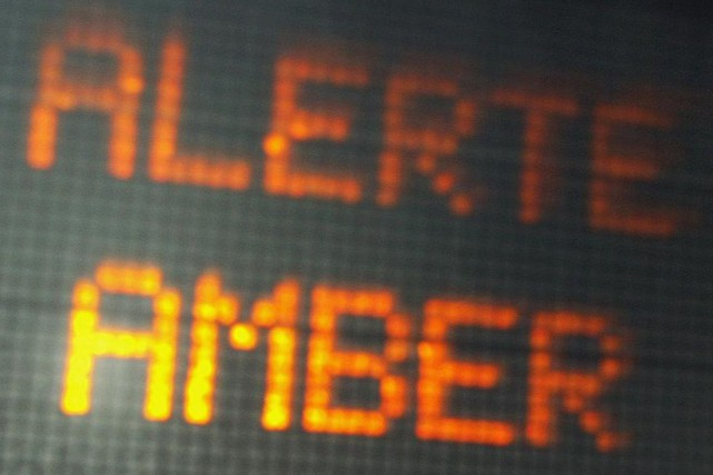 Dorénavant en Ontario, les alertes AMBER seront bilingues à la suite de la... (Archives PC)