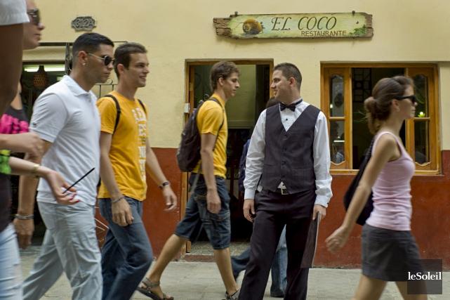 Jusqu'à présent, Cuba ne tolérait que les entreprises... (Photothèque Le Soleil)