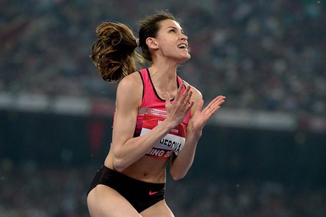 AnnaChicherova a remporté la médaille de bronze à... (Archives Agence France-Presse)