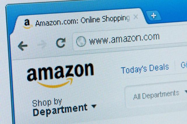 Le géant du détail en ligne Amazon emploie... (123RF)