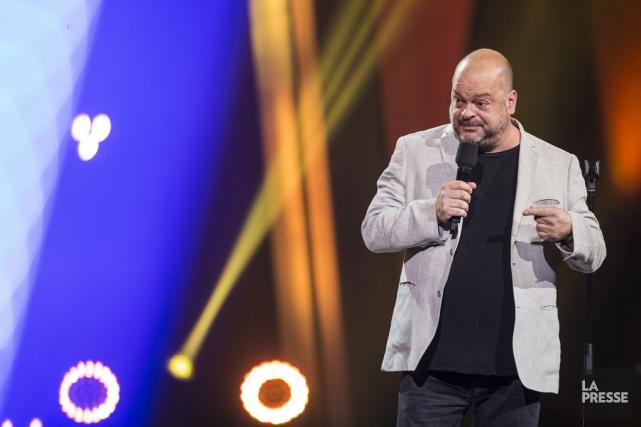 L'humoriste Sylvain Larocque viendra clore le gala.... (Archives La Presse)