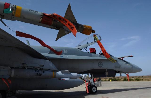 La Libye est plongée dans un chaos depuis... (PHOTO ARCHIVES LA PRESSE CANADIENNE)
