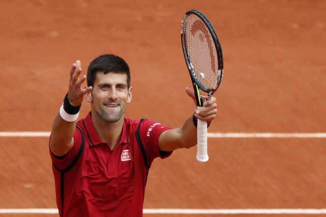 Novak Djokovic... (PHOTO REUTERS)