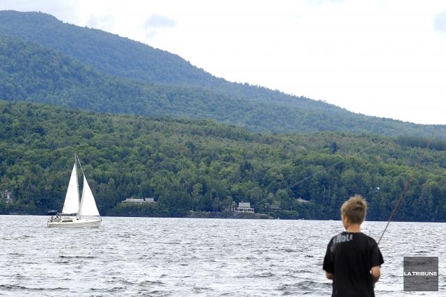 La région des Cantons-de-l'Est se savoure entre lacs... (Archives, La Tribune)