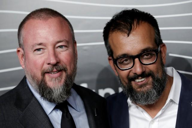 Shane Smith et Suroosh, cofondateurs de Vice... (Photo Mike Segar, Reuters)