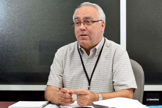 Michel Camirand était encore le directeur général du... (François Gervais, Le Nouvelliste)