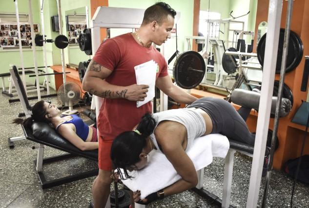 À Cuba où le culte du corps a... (AFP, Adalberto Roque)